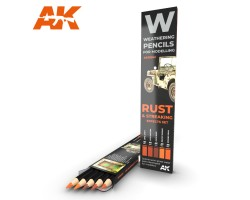Weathering Pencil Set Rust and Streaking