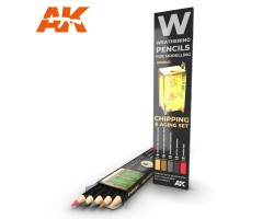 Weathering Pencil Set Chipping
