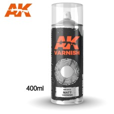 AK Interactive Matt Varnish Spray
