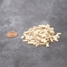 Mini Bricks (1/32 scale) Beige