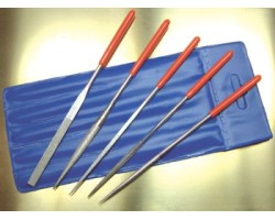 5pc Diamond Needle File Set with soft grip handles.