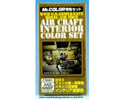 Mr Color Aircraft Interior Set (CS681)