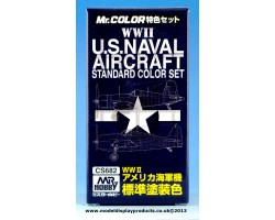 MR Color US Naval Aircraft Paint Set (CS682)