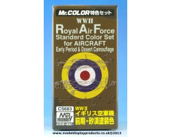 Mr Color RAF Early & Desert Camouflage Set (CS683)