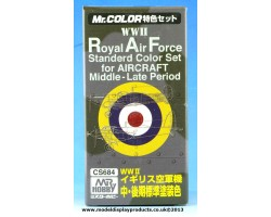 Mr Color RAF Middle to Late Period Set (CS684)