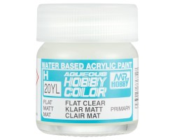 Mr Hobby Aqueous Hobby Colour H020YL Flat Clear