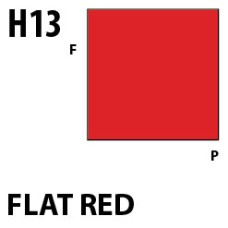 Mr Hobby Aqueous Hobby Colour H013 Flat Red