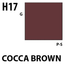 Mr Hobby Aqueous Hobby Colour H017 Cocoa Brown