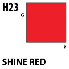 Mr Hobby Aqueous Hobby Colour H023 Shine Red