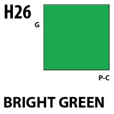 Mr Hobby Aqueous Hobby Colour H026 Bright Green