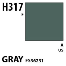 Mr Hobby Aqueous Hobby Colour H317 Gray FS36231