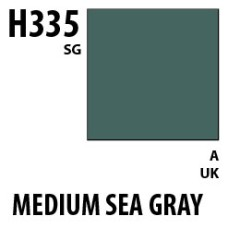 Mr Hobby Aqueous Hobby Colour H335 Medium Seagray BS381C/637