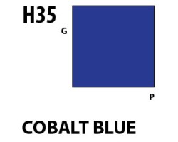 Mr Hobby Aqueous Hobby Colour H035 : Cobalt Blue
