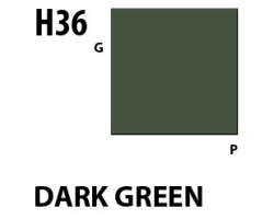 Mr Hobby Aqueous Hobby Colour H036 : Dark Green