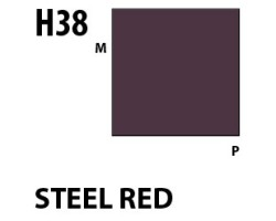 Mr Hobby Aqueous Hobby Colour H038 Steel Red