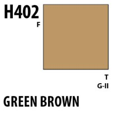Mr Hobby Aqueous Hobby Colour H402 Green Brown