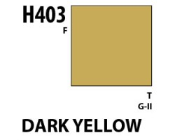 Mr Hobby Aqueous Hobby Colour H403 Dark Yellow