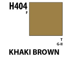 Mr Hobby Aqueous Hobby Colour H404 Khaki Brown