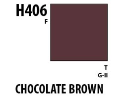 Mr Hobby Aqueous Hobby Colour H406 Chocolate Brown