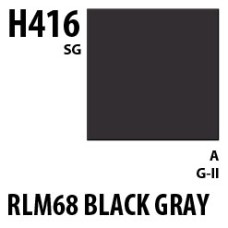 Mr Hobby Aqueous Hobby Colour H416 RLM66 Black gray