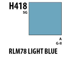 Mr Hobby Aqueous Hobby Colour H418 RLM78 Light Blue