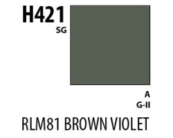 Mr Hobby Aqueous Hobby Colour H421 RLM81 Brown Violet