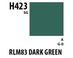 Mr Hobby Aqueous Hobby Colour H423 RLM83 Dark Green