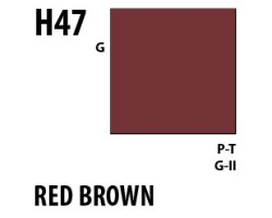 Mr Hobby Aqueous Hobby Colour H047 Red Brown