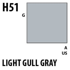 Mr Hobby Aqueous Hobby Colour H051 Light Gull Gray