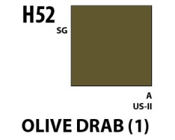 Mr Hobby Aqueous Hobby Colour H052 Olive Drab