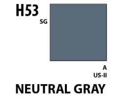 Mr Hobby Aqueous Hobby Colour H053 Neutral Gray