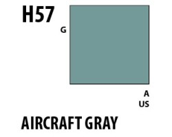Mr Hobby Aqueous Hobby Colour H057 Aircraft Gray