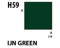 Mr Hobby Aqueous Hobby Colour H059 IJN Green