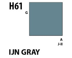 Mr Hobby Aqueous Hobby Colour H061 IJN Gray
