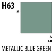 Mr Hobby Aqueous Hobby Colour H063 Metallic Blue Green