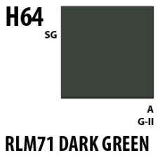Mr Hobby Aqueous Hobby Colour H064 RLM71 Dark Green
