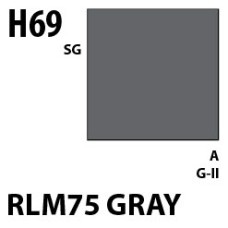 Mr Hobby Aqueous Hobby Colour H069 RLM75 GRAY