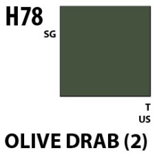 Mr Hobby Aqueous Hobby Colour H078 Olive Drab