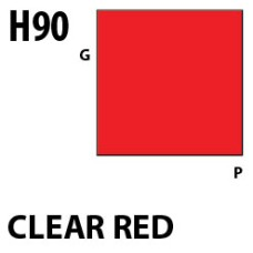 Mr Hobby Aqueous Hobby Colour H090 Clear Red