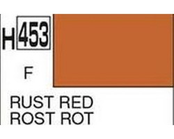 Mr Hobby Aqueous Hobby Colour H453 Rust Red