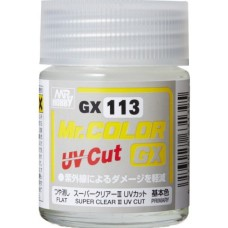 Mr Color GX113 Super Clear III UV Cut Flat