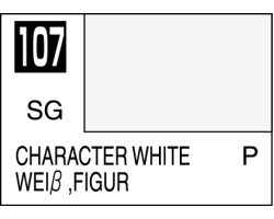 Mr Colour C107 Character White
