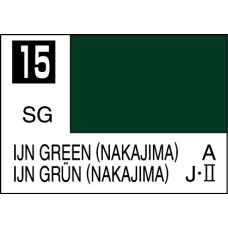 Mr Colour C015 IJN Green (NAKAJIMA)
