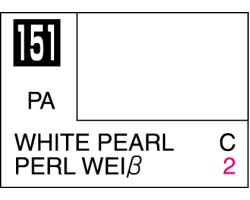 Mr Colour C151 White Pearl