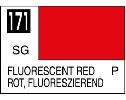 Mr Colour C171 Fluorescent Red