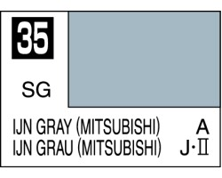 Mr Colour C035 IJN Gray (Mitsubishi)