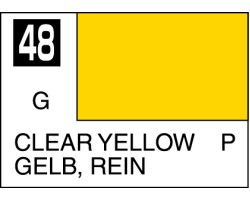 Mr Colour C048 Clear Yellow