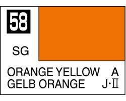 Mr Colour C058 Orange Yellow
