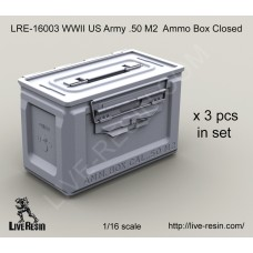 LRE16003   WWII US Army .50 M2 Ammunition Ammo Box Closed