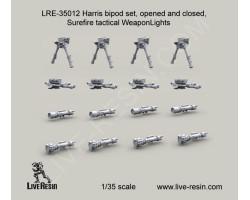 LRE35012 Harris Bipod Set